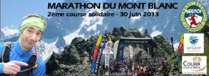 Marathon du Mont Blanc : 2ème course solidaire