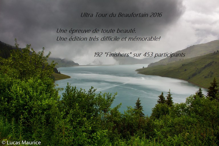 Ultra (dur) Tour du Beaufortain