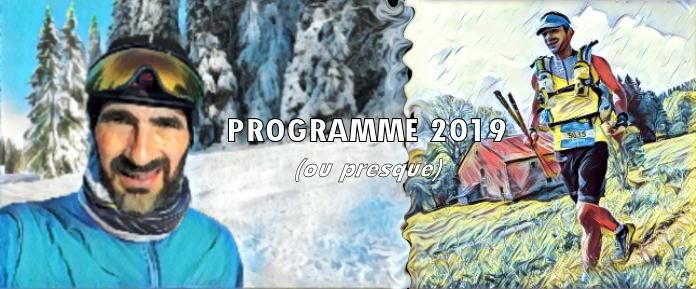 Programme 2019 (ou presque…)