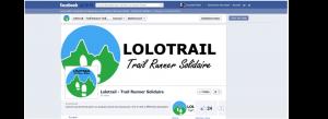 La Page Facebook de Lolotrail