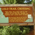 Lolo Trail Crossing