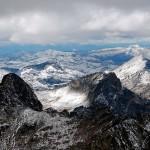 Montagnes bitterroots