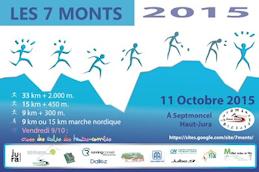 Enjambée des 7 Monts 2015