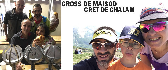 Cross de Maisod / Crêt de Chalam